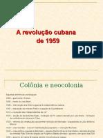 A Revolução Cubana de 1959