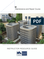 CAMT Air Conditioning Maintenance and Repair Course Instructor Guide