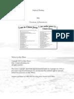 Christian Affirmation PDF