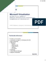 Sevecek Hyper v 2012 r2 Virtualization