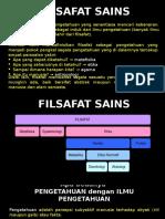FILSAFAT SAINS