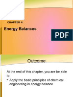 CHAPTER 4 Energy Balance