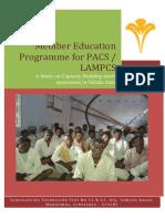 Odisha PACS Study Report