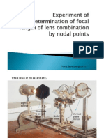Nodal Poinf With Focal Length