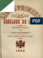 Cabildos de Lima. Libro Primero. Parte 01