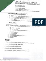 FDA - Regulations and Control
