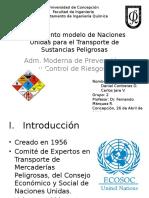 Reglamento Modelo de Naciones Unidas Para El Transporte