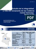 Estudio de La Integridad y Vida Útil Remanente-Calderas Termozipa-EMGESA