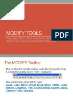 Modify Tools