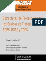 Especificaciones Rops