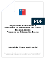 Registro PIE 2016