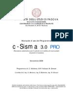 Manuale_cSisma_3.0_PRO