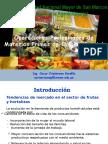Operaciones Preliminares Vegetales