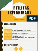 Fertilitas (Kelahiran)