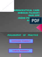 Phylosophy of Pharmacist Practice