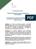 Proyecto Boleto Diferencial Municipales