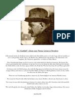 G.I. Gurdjieff Zitate