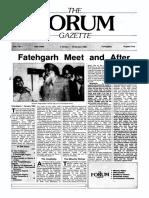 The Forum Gazette Vol. 3 No. 1 January 5-19, 1988
