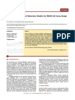 Performance Analysis of Memristor Models for RRAM Cell Array Design Using SILVACO EDA