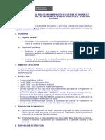 Directiva Implementación de La Vigilancia y Control Roedores 18 Nov 09
