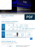 EMC Data Domain Overview