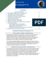 Resumen Informativo 31 2016