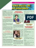 TX Importancia de Cochabamba