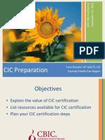 CIC Prep 9 19 13