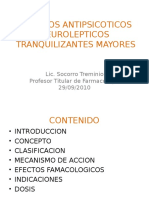 FARMACOS ANTIPSICOTICOS  NEUROLEPTICOS