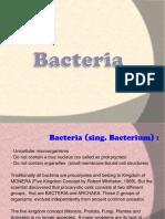 Kuliah 3. Bacteria 2016