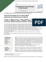 Protocolo Manejo VAD SEDAR
