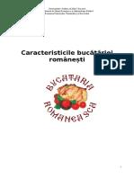 Caracteristicile bucătăriei românești