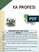 Etika Profesi Pengertian Etika