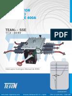 Catalogo Tean Interruptor Manual Poste Sse 2017 v1