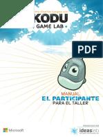 Kodu Game Lab Manual Del Participante