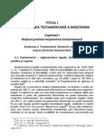 Drept Civil Succesiuni Mostenirea Testamentara Extras