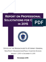 Pro Solicit Report 2015