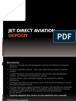 Jet Direct Aertgviation Deposit.pptx
