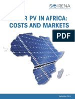 IRENA Solar PV Costs Africa 2016