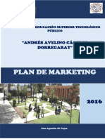 Plan de Marketing Instituto Cajas