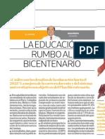 La educación rumbo al Bicentenario - Hugo Ñopo - El Comercio (Día 1) - 28112016
