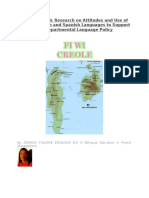 Use of San Andres Creole