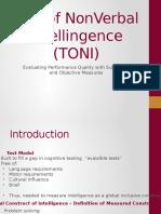 TONI IV Presentation