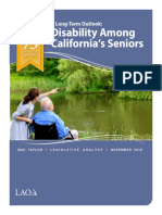 California's Disability Long Term Outlook