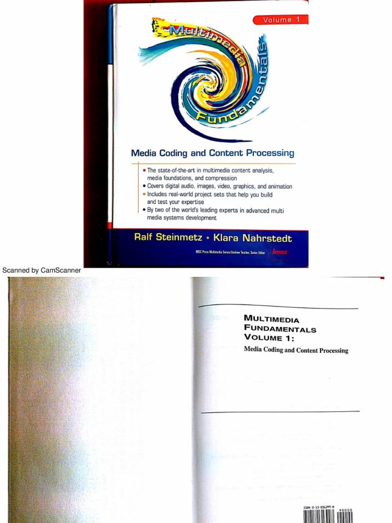 Multimedia fundamentals media coding and content processing multimedia fundamentals media coding and content processing volume 1pdf data compression compact disc sciox Gallery