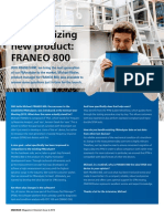 FRANEO 800 Article an Appetizing New Product FRANO800 OMICRON Magazine 2015 ENU