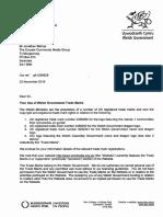 Welsh Government Letter to Crocels Community Media Group