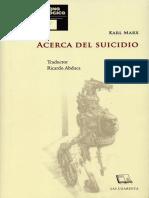 Acerca del Suicidio de Marx.pdf