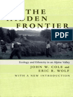 Cole and Wolf (1999)-The Hidden Frontier