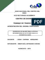 TRADUCCION - ARTÍCULO
